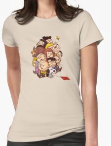 bond in kyte snoopy peanut Womens Fitted T-Shirt