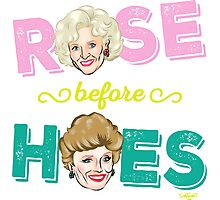ROSE BEFORE HOES Photographic Print