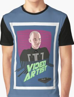 Knox Harrington, The Video Artist Graphic T-Shirt