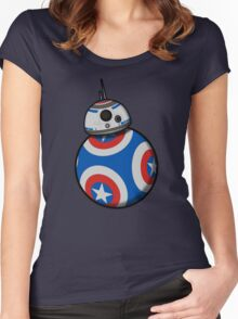 Captain Ameribot Women's Fitted Scoop T-Shirt