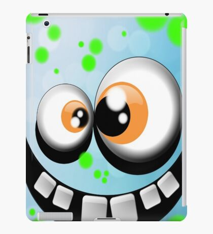 silly monster #1 iPad Case/Skin