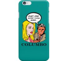 Comics Lieutenant Columbo Vintage iPhone Case/Skin