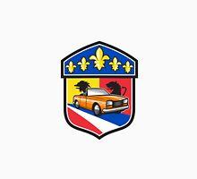 Vintage Cabriolet Fleur-de-Lis Crest Retro Unisex T-Shirt
