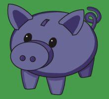Piggy Bank One Piece - Short Sleeve