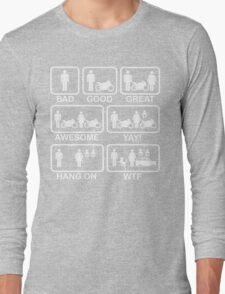 Funny Motorbike T Shirt Long Sleeve T-Shirt