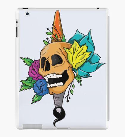 Blooming Skull and Brush iPad Case/Skin