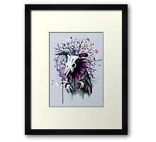 From Nature We Must Stray Framed Print