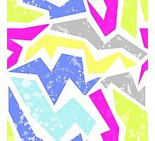 Abstract bright geometric seamless pattern print Photographic Print