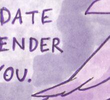 Gender Sticker