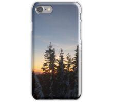 Sunset on the Mountain iPhone Case/Skin