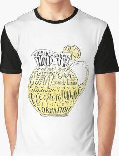 Lemonade Pitcher Graphic T-Shirt