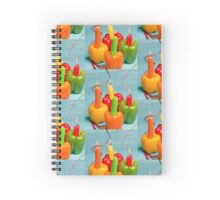 Happy holiday! Spiral Notebook