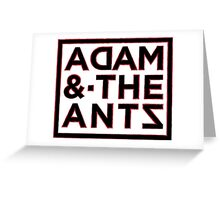 Adam and the Antz Greeting Card