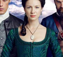 Outlander/Jamie, Claire & Murtagh Sticker