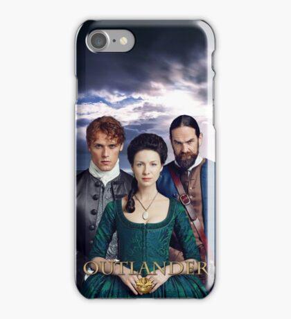 Outlander/Jamie, Claire & Murtagh iPhone Case/Skin