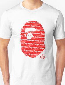 Bape x Supreme Unisex T-Shirt