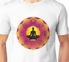 Yoga Lotus Unisex T-Shirt