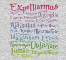 harry potter magic spelling Kids Tee