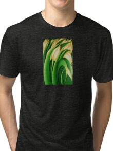 Yellow Tulips Tri-blend T-Shirt