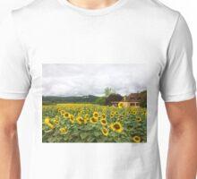 Sunflowers, Dordogne, France Unisex T-Shirt