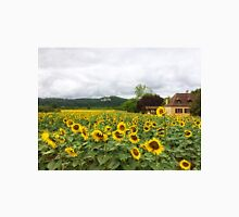 Sunflowers, Dordogne, France Unisex T-Shirt