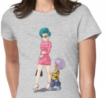 Shopping Womens Fitted T-Shirt