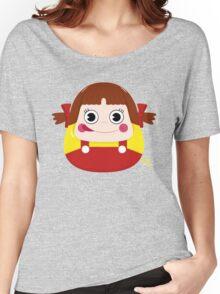 Neko Chan Daruma Women's Relaxed Fit T-Shirt
