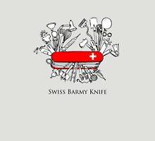 Swiss Barmy Knife Unisex T-Shirt