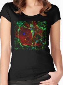 Synapses Women's Fitted Scoop T-Shirt