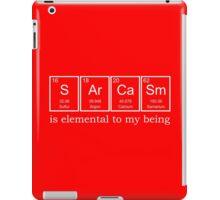 Sarcasm Elements iPad Case/Skin