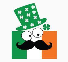 Irish mustache man st.Patty's day Women's Fitted Scoop T-Shirt