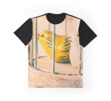 Two Birds One Cage Graphic T-Shirt