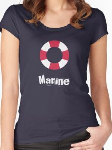 Marine Women's Fitted Scoop T-Shirt