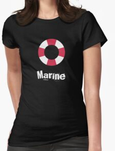 Marine Womens Fitted T-Shirt