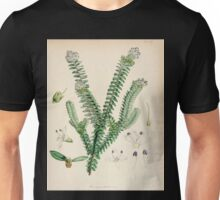 The botany of the Antarctic voyage of H M  discovery ships Erebus and Terror in the Years 1839 1843 Joseph Dalton Hooker V1 030 Unisex T-Shirt