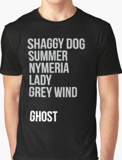 Direwolves Graphic T-Shirt