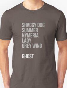 Direwolves Unisex T-Shirt