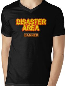 Disaster Area Mens V-Neck T-Shirt
