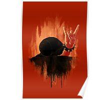 Rock Hard Snail Poster