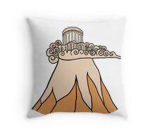Mount Olympus Throw Pillow