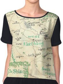 The Shire - hand-painted design Chiffon Top