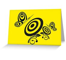 Butterfly Dart Greeting Card