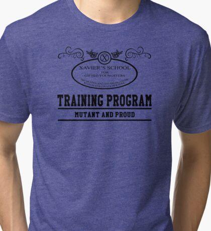 Xavier's School - Mutant and Proud V2 Tri-blend T-Shirt