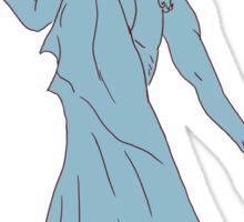 Poseidon - Ancient Greek God of the Sea Sticker
