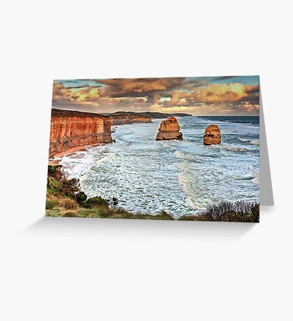 Two Sentinels Greeting Card