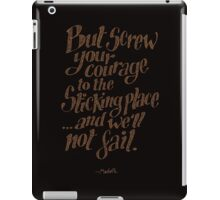 If we should fail? iPad Case/Skin