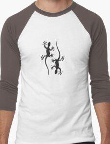 Two black geckos Men's Baseball ¾ T-Shirt