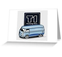 T1 Bus - Economy Class Greeting Card