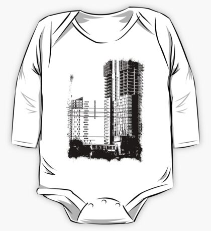 Skyscraper Under Construction One Piece - Long Sleeve