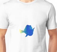 Fish inspired silhouette Unisex T-Shirt